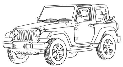 jeep liberty coloring pages jeep coloring pages coloring page freescoregov com