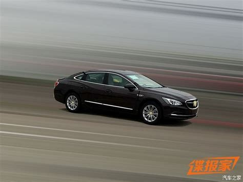 2017 Buick Lacrosse Coupe by 2017 Buick Lacrosse Sedan Exposed In China Carscoops