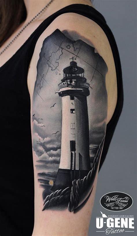 lighthouse tattoo  tattoo design ideas
