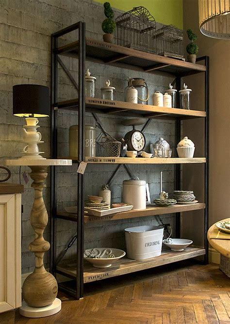librerie in legno grezzo libreria legno grezzo e metallo arredomilano