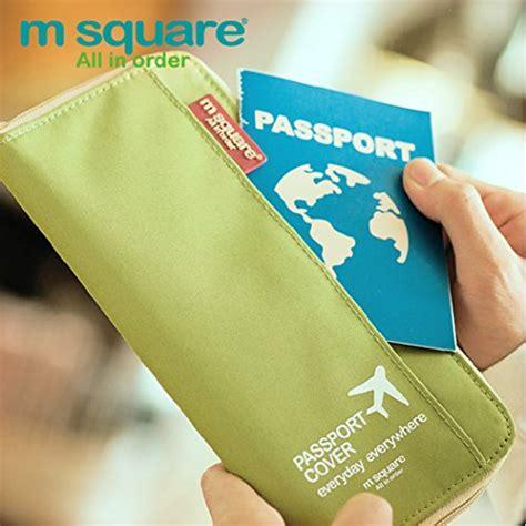 M Square Travel Tas G1641 51 m square travel passport wallet holder safety documents