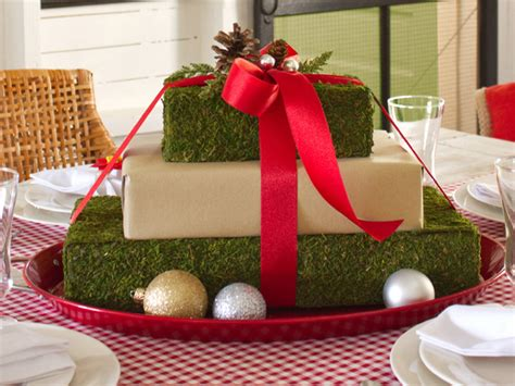make your own gift box centerpiece hgtv design blog