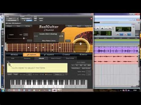 download pattern real guitar real guitar pattern no pro tools youtube