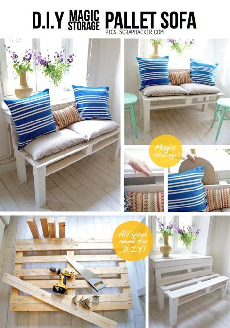 diy sofa pallet 50 wonderful pallet furniture ideas and tutorials