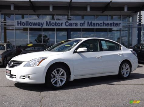 nissan white car altima 2011 winter frost white nissan altima 3 5 sr 84256899