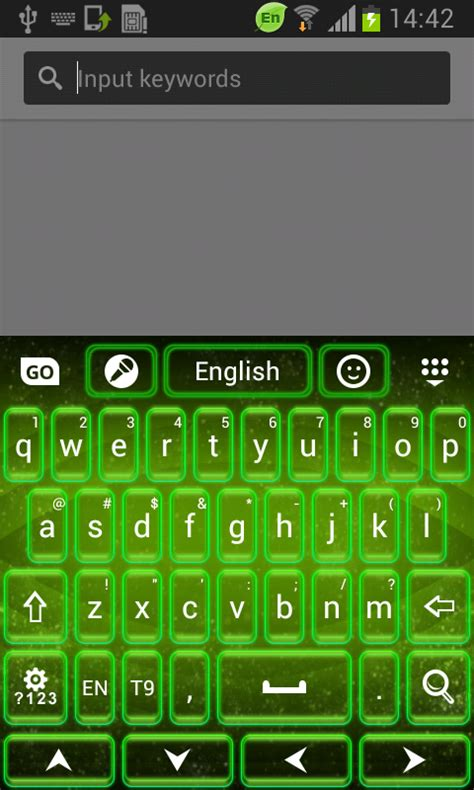 neon keyboard apk free neon green keyboard free apk android app android freeware
