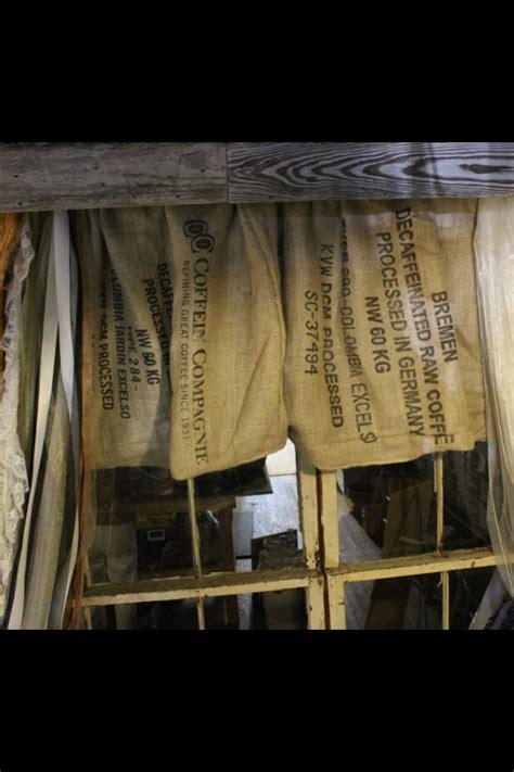 potato sack curtains 17 best images about burlap curtains on pinterest window