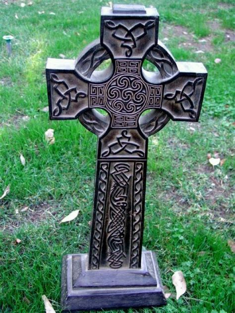 tombstone cross tattoos 1000 ideas about celtic cross tattoos on