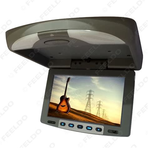 Lcd Monitor Roof feeldo car accessories official store 9 quot flip tft