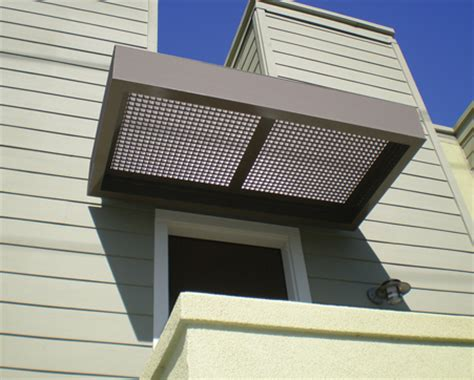 Metal Window Awnings Crl Aluminum And Steel Canopies