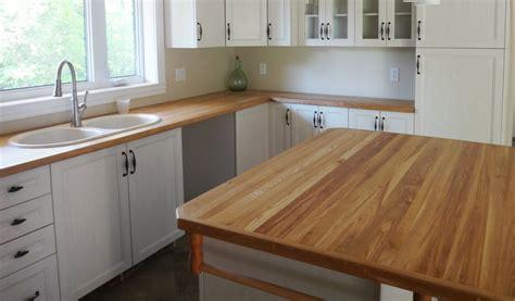 comptoir cuisine bois wraste