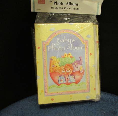 Baby Book Album Unisex new stepping stones noah s ark unisex baby s photo album