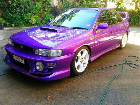 purple subaru impreza 17 best images about awesome color cars on pinterest