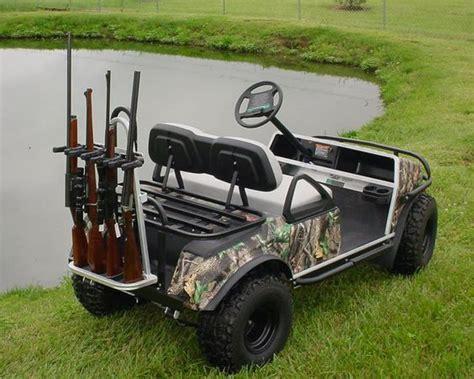Gun Rack For Golf Cart by Universal Golf Cart Rear Seat Kit Black Gun Rack