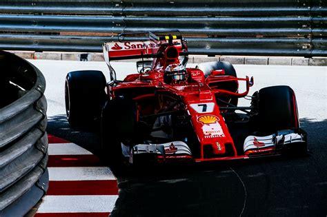 Ferrari Qualifying by F1 Raikkonen Leads Ferrari 1 2 Qualifying At Monaco Gp