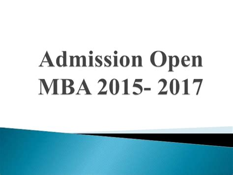Mitsom Mba Admission 2017 by Admission Open Mba 2015 2017 Quantum Global Cus