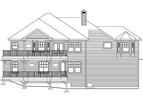 House Plans For Sloping Lots In The Rear by House Plans For Downward Sloping Lots 28 Images Front