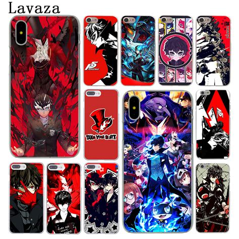 lavaza p5 p persona 5 phone for apple iphone 6 6s 7 8 plus 4 4s 5 5s se 5c cover for