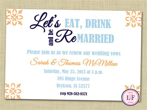 Anniversary Party Invitations Free Invitation Ideas Vow Renewal Invitations Templates