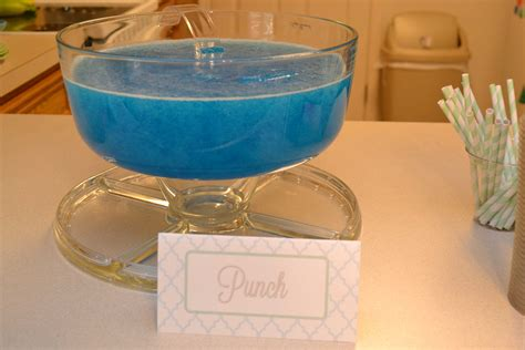 blue punch recipes for baby shower tanya s baby shower warfieldfamily