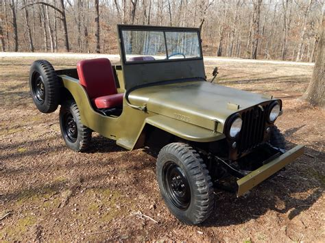 1946 Willys Jeep Parts 1946 Willys Cj2a Classic Vehicles