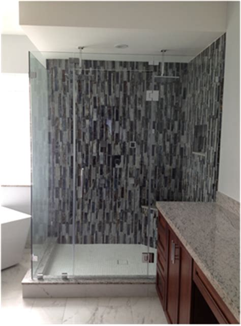 Miami Frameless Shower Door Frameless Shower Doors And Mirrors Miami South Florida