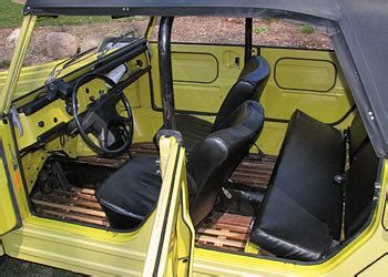 1974 volkswagen thing interior 1974 volkswagen thing for sale