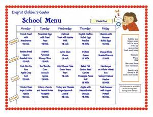 daycare menu template blank lunch menus for daycare calendar template 2016