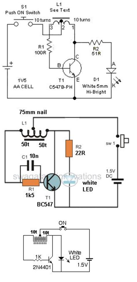 thief circuit diagram 10 best images about joule thief on current