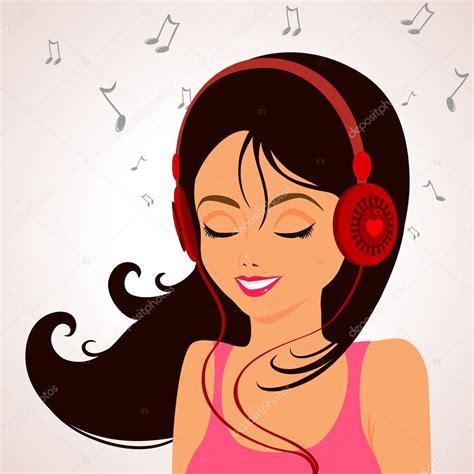 imagenes animadas musica m 250 sica chica vector de stock 169 lianka 21680583