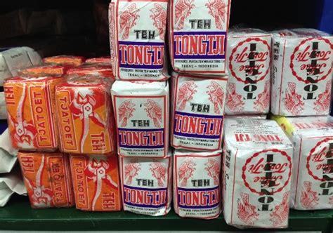 Teh Indonesia mengamati desain bungkus teh lokal motzter