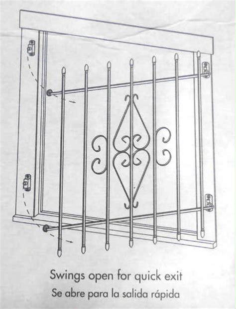 interior window bars release safety burglar bars vs safety
