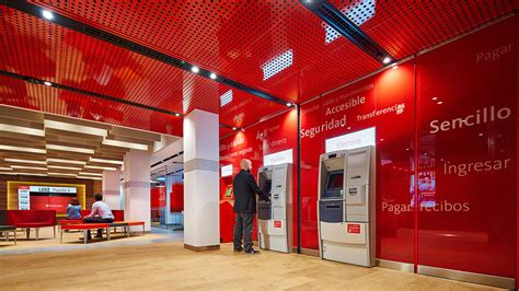 banco santander banking santander spain flagship pilot branch allen international
