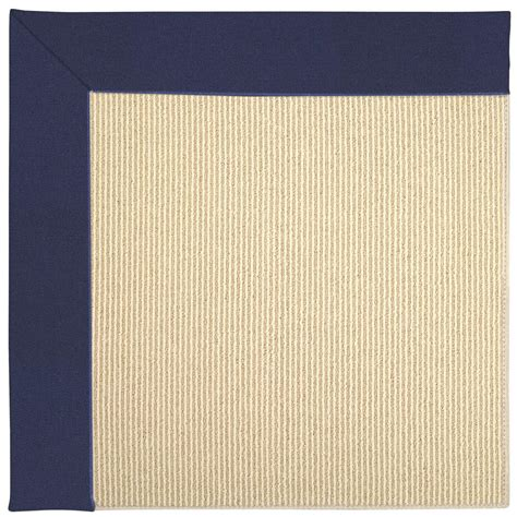 12 x 12 area rugs capel zoe sisal navy 12 ft x 12 ft area rug 2009rs12001200467 the home depot