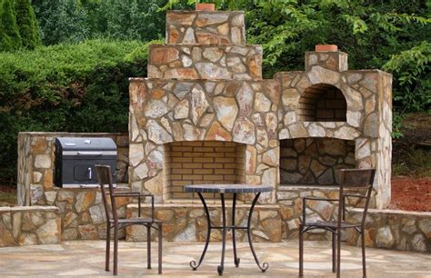 How To Build Pizza Oven Fireplace by Brickwood Ovens Morrison Wood Fired Oven And Fireplace Combo Carolina