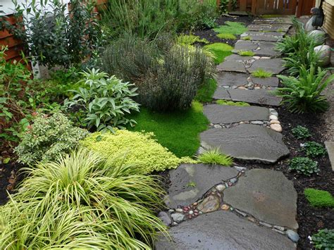 Garden Creative Inexpensive Garden Path Ideas Garden Garden Walkways Ideas