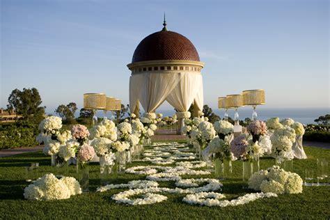 best garden wedding venues in california california wedding venues pelican hill outdoor ceremony