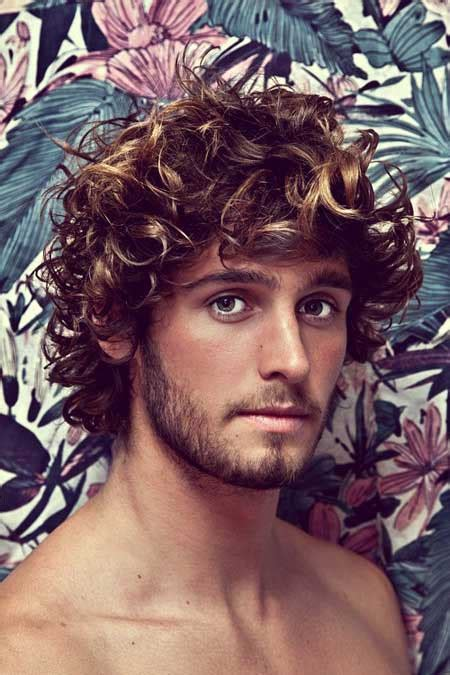 boys wavy hairstyles wavy curly hairstyles for men mens hairstyles 2018