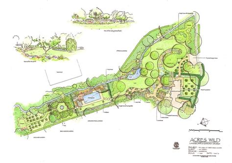 acres wild masterplan 210 best landscape planning master pln images on