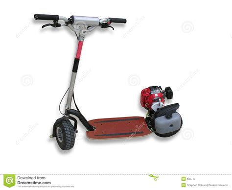 motorized scooter motorized scooter royalty free stock images image 135719