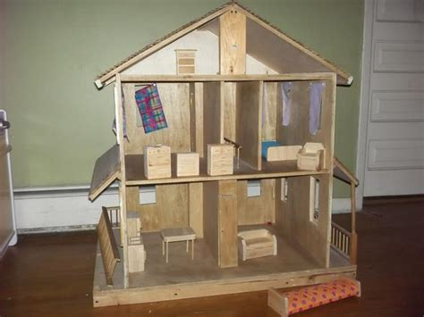 barbie doll house homemade best offer homemade wooden barbie dollhouse nex tech classifieds