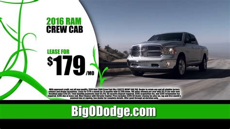 Big O Dodge Chrysler Jeep Ram by Big O Dodge Chrysler Jeep Ram Announces The