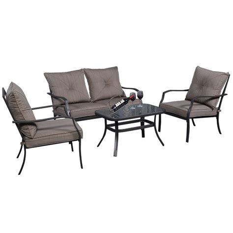 lowes patio table set furniture shop patio tables at lowes folding patio chairs