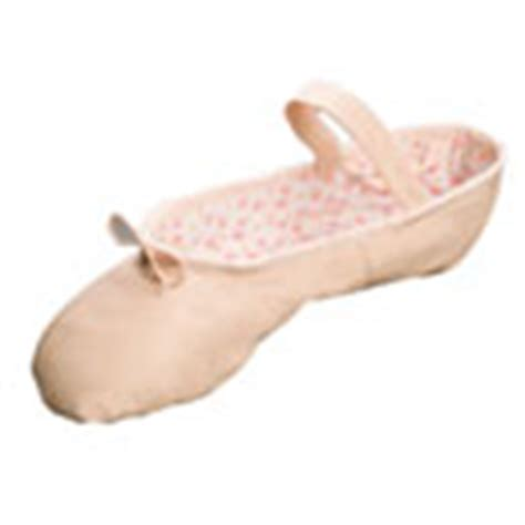 predance pink leather ballet shoes not the pretend