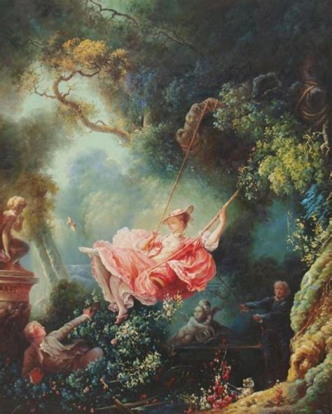 the swing fragonard painting quot the swing quot after fragonard 1732 1806 lot 71