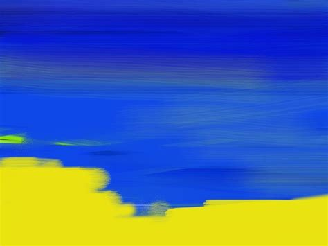 Blue Yellow Colors photo collection abstract blue yellow color