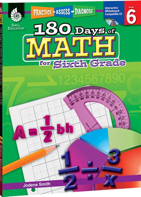 180 days of reading for third grade 180 days of practice 180 days of math for sixth grade teachers classroom