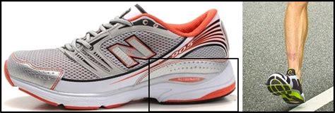 heel strike running shoes thick cushioned running shoes impair running gait