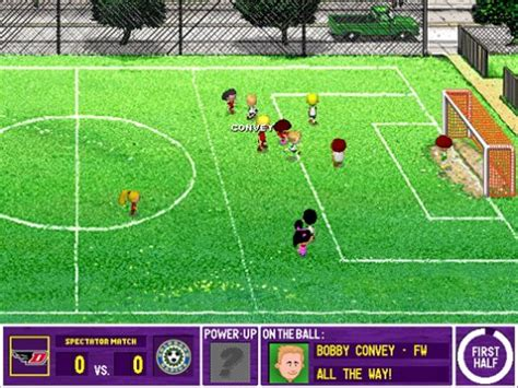 play backyard soccer backyard soccer 2004 pc mac
