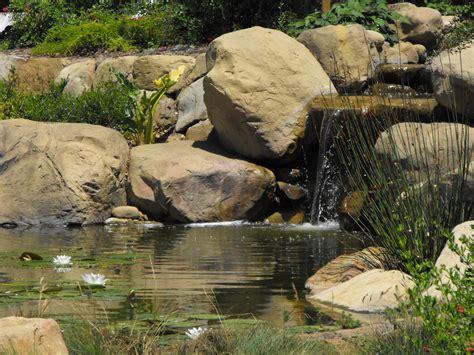 ponds garcia rock  water design blog